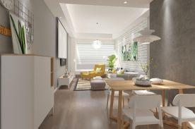 成都北欧三居室装修效果图