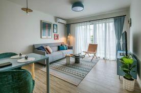 乐山欧式风格两居室装修效果图