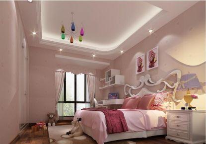 佛山中式风格三居室装修效果图
