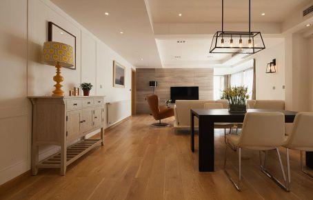 乐山后现代三居室装修效果图