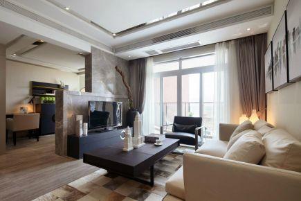 乐山后现代风两居室装修效果图
