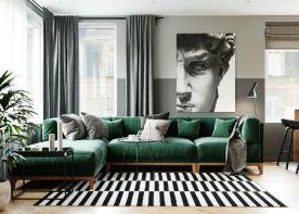 六安欧式风格三居室装修效果图
