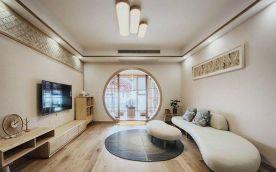 重庆106㎡素雅日式风格三居室装修效果图