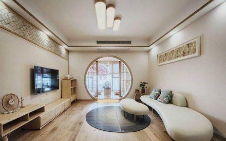 重慶106㎡素雅日式風格三居室裝修效果圖