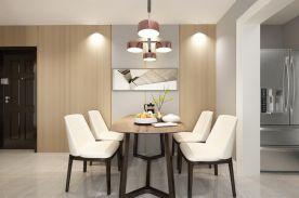 成都85m²现代三居室装修效果图