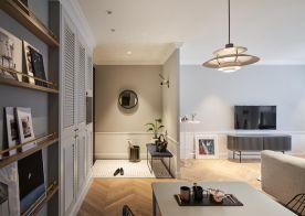 常州北欧三居室装修效果图
