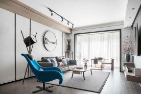 常州新中式三居室装修效果图