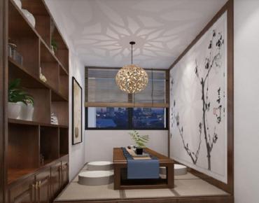 海口现代风格四居室装修效果图