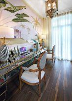常州东南亚风格三居室装修效果图