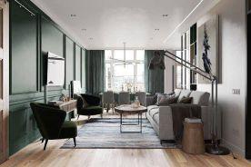 重庆70㎡俄罗斯简约风格两居室装修效果图