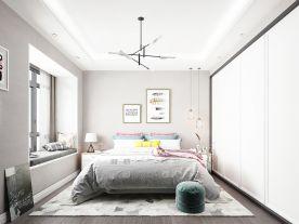 大连现代简约两居室装修效果图