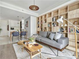 西安日式风格两居室装修效果图
