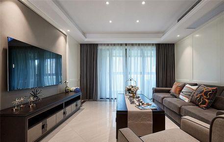 西安美式风格两居室装修效果图