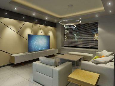 广州简约风格四居室装修效果图