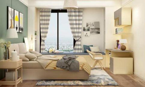 保定欧式风格三居室装修效果图