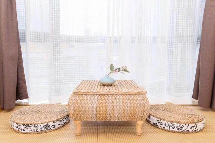 武漢日式風格三居室裝修效果圖
