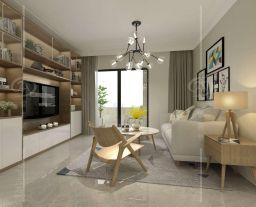 广州日式风格两居室装修效果图