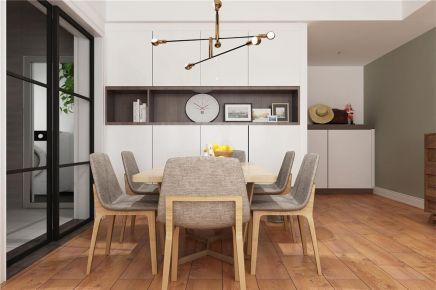 成都131m²北欧三居室装修效果图