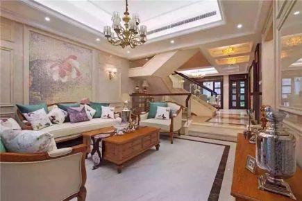 郑州简约风格三居室装修效果图