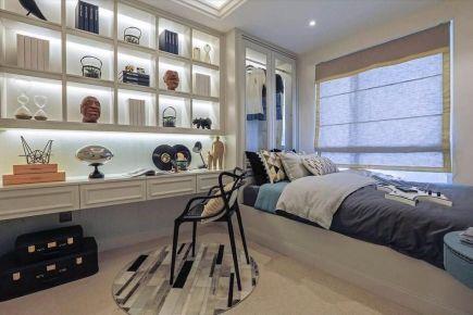 六安现代简约三居室装修效果图