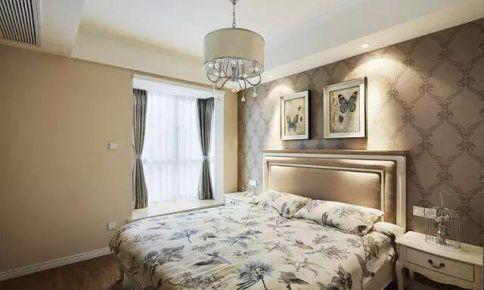 常州欧式风格三居室装修效果图