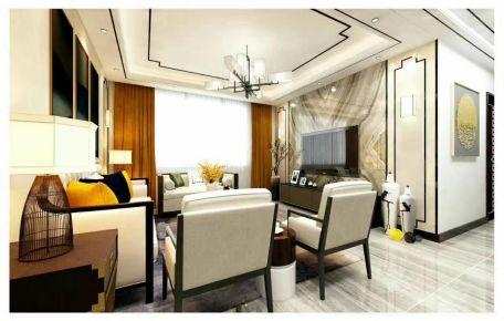 濟南簡歐風格歐式風格四居室裝修效果圖