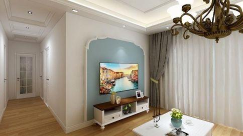 合肥美式风格三居室装修效果图