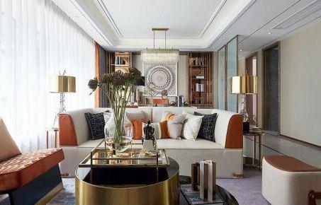 无锡现代风格三居室装修效果图