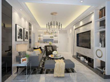 漳州现代简约两居室装修效果图