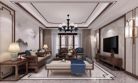 泉州中式风格四居室装修效果图
