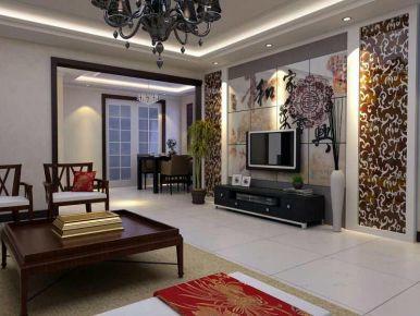 太原中式风格四居室装修效果图