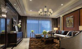 广州新古典风格三居室装修效果图