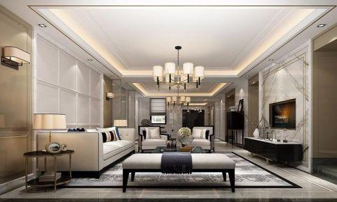 广州新中式风格三居室装修效果图