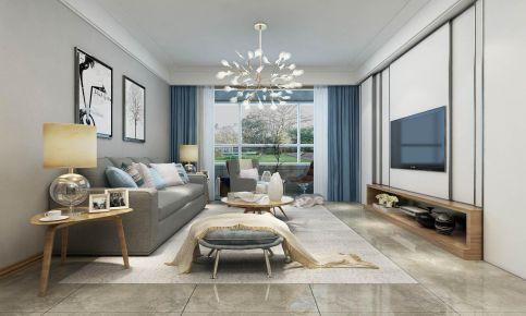 西安欧式三居室装修效果图