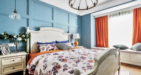 泉州现代风格两居室装修效果图