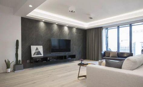 重慶160㎡現代簡約大平層裝修效果圖