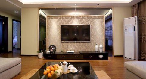 漳州现代风格三居室装修效果图