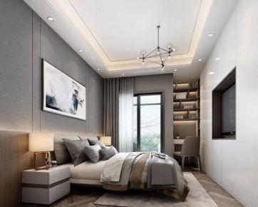 昆明現代風格三居室裝修效果圖