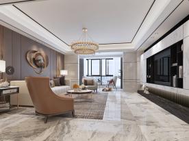 泉州现代风格四居室装修效果图