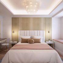 昆明法式风格三居室装修效果图
