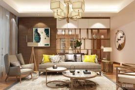 贵阳中式风格三居室装修效果图