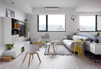 重庆现代风格三居室装修效果图