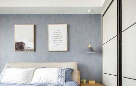 郑州简约日式一室两厅装修效果图
