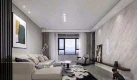 郑州简约风格两居室装修效果图