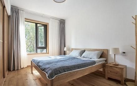 郑州日式风格两居室装修效果图