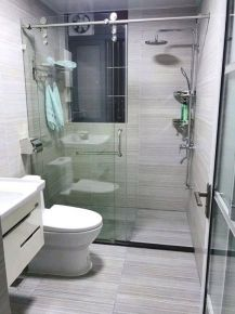 郑州现代风格两居室装修效果图
