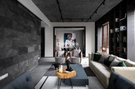 重慶現代風格四居室裝修效果圖