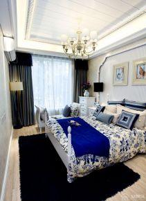 貴陽地中海風格兩居室裝修效果圖
