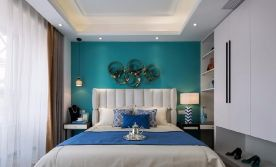 六安現代風格三居室裝修效果圖