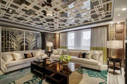 重庆中式风格别墅装修效果图